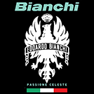 Read about the Bianchi Bikes logo image